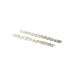 Wsuwki 6 cm z perełkami