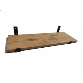 Loft industrial zestaw półka i wsporniki