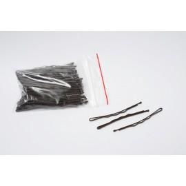 Wsuwki do włosów BRĄZ 100szt 6cm